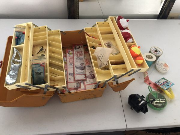 Fishing Box with Supplies