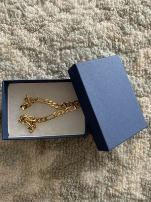14k gold plated bracelet for Sale in Round Rock, TX