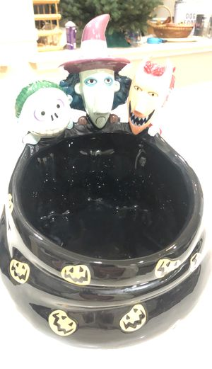 Nightmare before christmas candy bowl for Sale in Fresno, CA