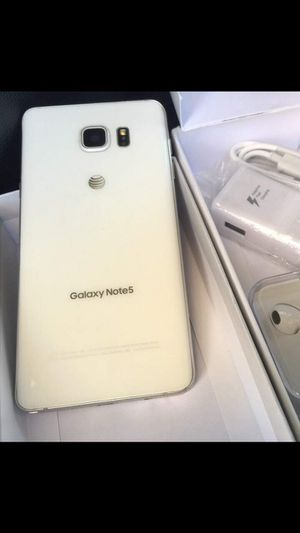 Samsung Galaxy NOTE 5 ( EXCELLENT CONDITION & Factory Unlocked) for Sale in Springfield, VA
