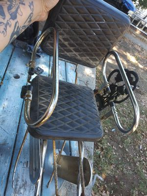 Vintage folding bike seat for Sale in Fresno, CA