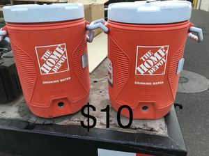 $10 FOR BOTH. 5 GAL WATER JUG for Sale in Phoenix, AZ