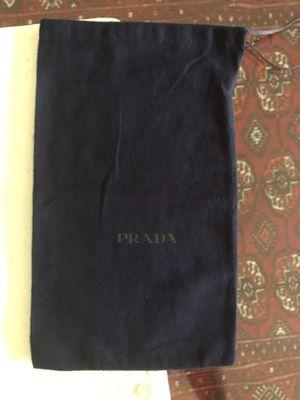"""PRADA DARK BLUE DUST BAG: 8.75"""" x 15"""" for Sale in West Hollywood, CA"""