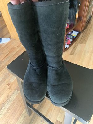 Ugg Boots Black size w8 nice condition for Sale in Lakewood, CO