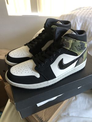 DS Jordan Retro 1 Mid Camo size 9.5 NEW for Sale in San Diego, CA