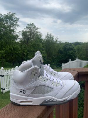 Jordan 5 White Metallic for Sale in Eighty Four, PA