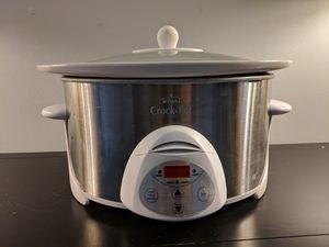 6 quart crock pot slow cooker for Sale in Alexandria, VA