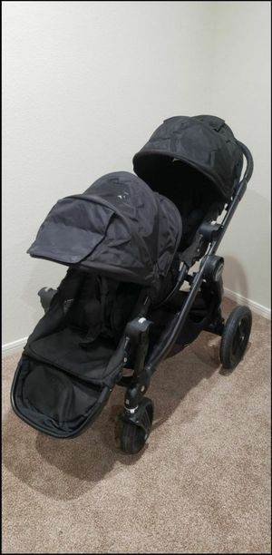 Baby Jogger City Select All Black Double for Sale in Henderson, NV