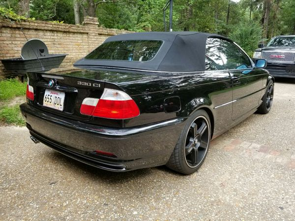 2003 BMW 330Ci Convertible - Beautiful black!