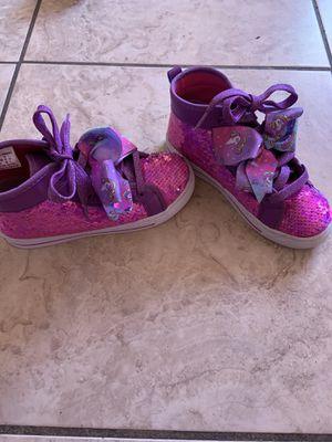 JoJo siwa shoes size 2 for Sale in Phoenix, AZ