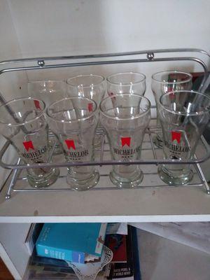 6oz. Michelob Pilsner Glasses for Sale in Warren, MI
