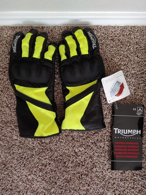 New Triumph Motorcycle Gloves for Sale in Round Rock, TX