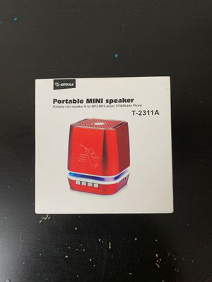 Portable mini speaker for Sale in Placentia, CA
