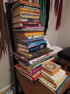 Title: 70 books (kid's, adult, science, fairy tales, Disney) for Sale in San Antonio, TX