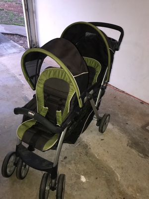 Chicco double stroller, original owner, very well kept! for Sale in Norfolk, VA