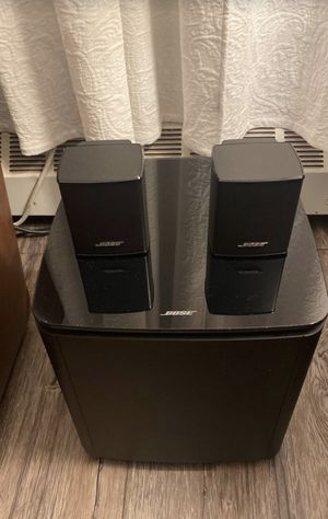 Bose 700 base module and 300 surround speakers for Sale in The Bronx, NY