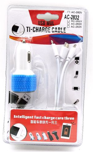 Car Universal Charger. Iphone charger. Samsung Charger. Fast Charging. for Sale in Glendale, CA