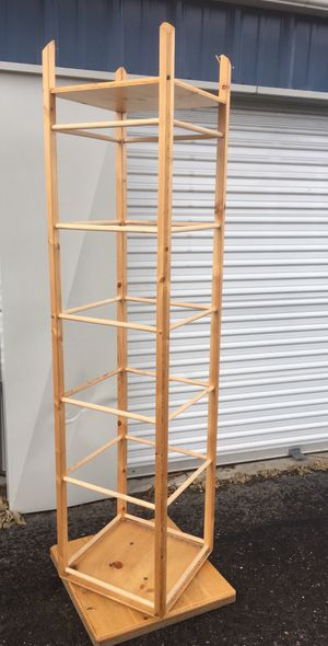 7' Rotating Arts and Crafts display rack for Sale in Missoula, MT