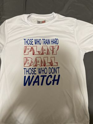 Baseball saying shirt size youth medium for Sale in Fresno, CA
