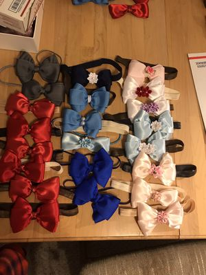 Headbands, barrettes and pacifier holders for Sale in Weston, FL