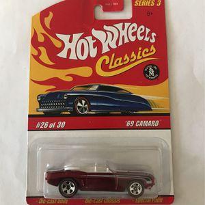 Hot Wheels Classic 69 Camaro for Sale in Corona, CA