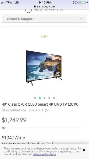 Uhd smart tv for Sale in Goodview, VA