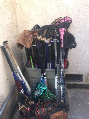Baseball & softball gear for Sale in Chula Vista, CA
