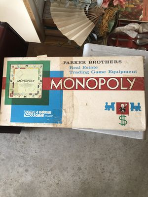 Parker Brothers Monopoly for Sale in Colonial Heights, VA