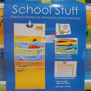 Our Stuff Storage School Stuff One-Stop Storage For Elementary School Memories for Sale in Philadelphia, PA