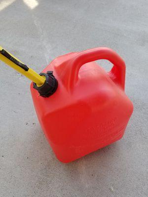 5 gallon gas can for Sale in Orondo, WA