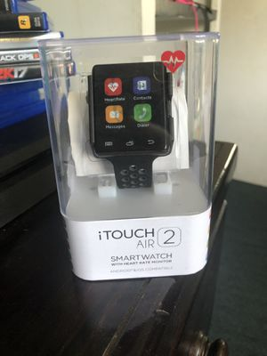 Itouch air 2 smart watch android and iOS compatible for Sale in Los Angeles, CA