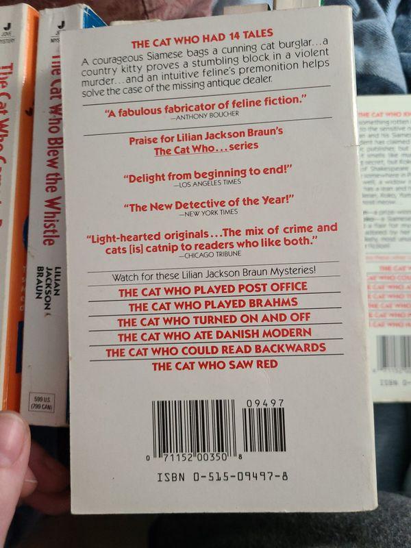 The Cat Who Had 14 Tales Lillian Jackson Braun, Paperback