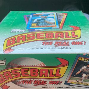 1990 Topps wax box $35 baseball cards for Sale in Upland, CA