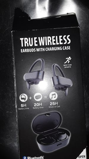 True wireless Earbuds with charging case for Sale in Maryville, TN