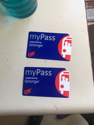 2 Buss passes for Sale in Mechanicsburg, PA