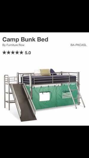 Camp (loft) Bunk Bed with Slide for Sale in Longmont, CO