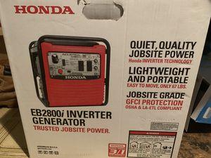 Honda EB2800i Inverter Generator for Sale in Brooklyn, NY