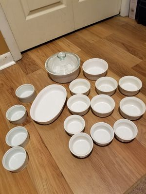 CORNINGWARE FRENCH WHITE ASSORTED DISHES for Sale in Hopatcong, NJ