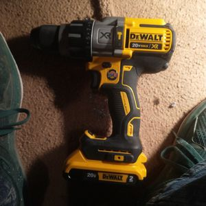Dewalt Cordless Drill 20 Xr Max Model Dcd996 With 2ah Battery for Sale in Delta, CO