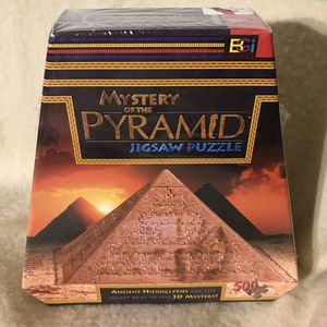 Mystery of the Pyramid Jigsaw Puzzle for Sale in Anchorage, AK