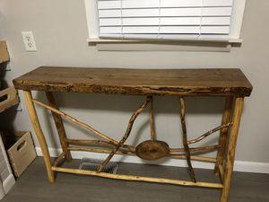Handmade wooden table for Sale in Monroe, MI