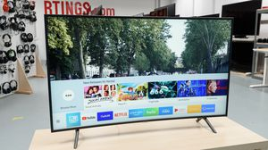 Samsung 55-Inch Curved Smart 4K UHD Tv for Sale in Columbus, OH