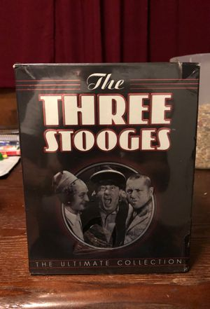 Three Stooges 20 disc ultimate collection dvd's for Sale in Millville, NJ