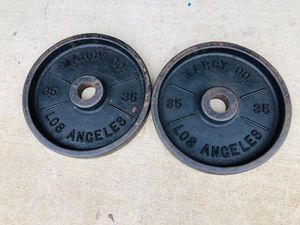 Marcy Deep Dish Plates - Olympic Weights - Gym Equipment - Fitness - Exercise for Sale in Downers Grove, IL