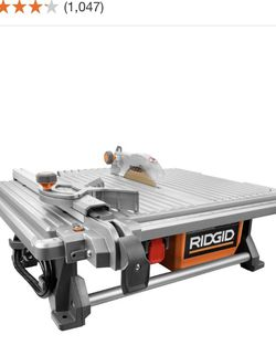 RIDGID 6.5 Amp Corded 7 in. Table Top Wet Tile Saw for Sale in Las Vegas,  NV