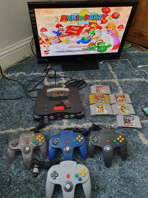 Nintendo 64 / N64 Bundle Lot Mario Pokemon Smash bros for Sale in Modesto, CA