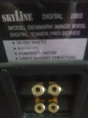 Skyline tower speakers for Sale in Painesville, OH
