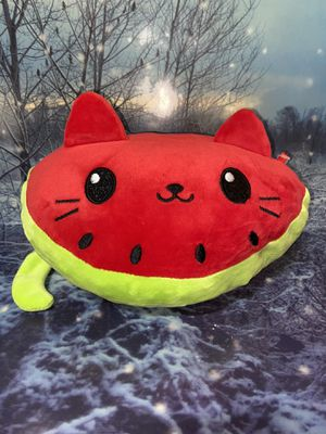 "Watermelon Plush cat 11"" for Sale in Bellflower, CA"