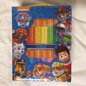 Nickelodeon Paw Patrol Board Book Set for Sale in Escondido, CA