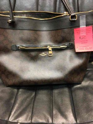 Coach Tote Black and Brown for Sale in Canton, MI